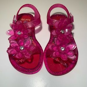 Wellie Wishers (American Girl) Jelly Sandals Sz 9